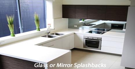 White Kitchen Mirror Splashback splash backs commercial glass services canberra   national capital